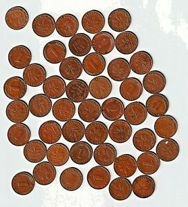 HOARD of 1950  Germany 1 Pfennigs Generally Choice VF-AU Some have luster/mint
