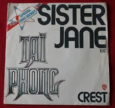 Tai Phong - jean Jacques Goldman, sister jane / crest, SP - 45 tours
