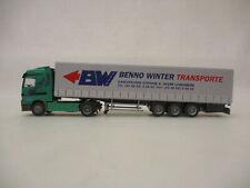 MES-65957Albedo 1:87 Volvo LKW Benno Winter sehr guter Zustand