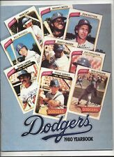 1980 Los Angeles Dodgers Yearbook in near mint -mint  (see scan)