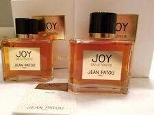 Vintage JOY Jean Patou Paris Large 60ML Eau De Toilette Splash Perfume Lot X 2