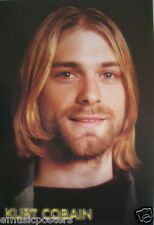 "Nirvana ""Kurt Cobain Smiling"" Poster From Asia - 90's Grunge Rock Music"