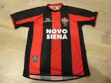 Vintage RARE Topper 2000 Esporte Clube Vitoria #3 Red Black Home Jersey (Large)