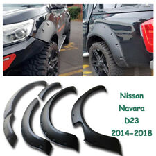 Fits Nissan Navara NP300 D23 ST STX SL Fender Flares Matte Wheel Arch 2014-On