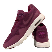 Nike Air Max 1 Ultra Women's Shoes Size Uk 4 Purple Running Trainers EUR 37.5