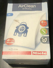 Miele GN Vacuum Cleaner Airclean Bags 4 Bags 2 Filters Blue Collar Genuine
