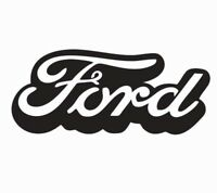 Ford Logo Vinyl Die Cut Car Decal Sticker - FREE SHIPPING