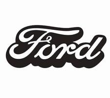 Ford Logo Vinyl Die Cut Car Decal Sticker - FREE SHIPPING