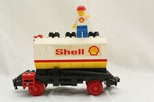 Lego Shell Waggon 7816 12 V olt/ 4,5 Volt Eisenbahn 1980
