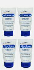 4pcs Albolene Moisturizing Cleanser Cream Unscented Mascara Makeup remover 3 oz.