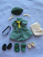 1950s Tiny Terri Lee Girl Scout Dress Uniform for Doll+Shoes+Socks+Tie+Pant y+Hat
