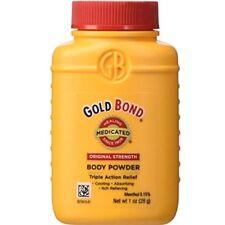 4 Pack Gold Bond Medicated Body Powder Original Strength 1oz Each