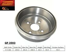 Brake Drum-GT Rear Best Brake GP3593