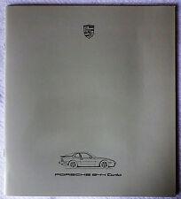 1986 Porsche 944 Turbo Original Sales Brochure Prospekt