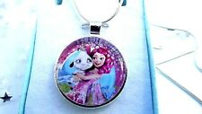 Mia And Me Chain 16 Inch Necklace Pendant Fairy Princess Gift Box Birthday Party