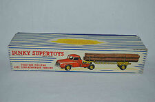 Dinky Toys 897 Willeme Tractor excellent complete empty box