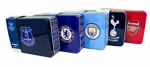 Football Team Storage Tins - 2019/2020 Boys Girls XMAS Birthday Gift Selection