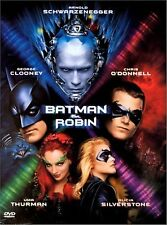 Batman And Robin 1997 Arnold Schwarzenegger, George Clooney Brand New DVD