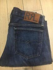 RRL Ralph Lauren Slim straight helm wash sz 28/32 Selvedge Jeans, new cut 1198