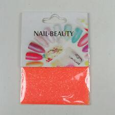 *** (0,68€/1g) 1,5 g Glitter Glitzer Nailglitter - Orange - für Nailart