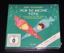 Rolf Zuckowski Ach Du mi Bolsa Musical + Grundschullieder CD+DVD
