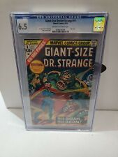 CGC 6.5 GIANT SIZE DOCTOR STRANGE #1 MARVEL 1975 ONLY ISSUE