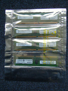 4 x Crucial CT12872AA667 (1 GB, PC2-5300 (DDR2-667), DDR2 RAM, 667 MHz, DIMM