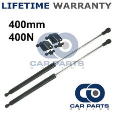 2X UNIVERSAL GAS STRUTS SPRINGS KIT CAR OR CONVERSION 400MM 40CM 400N & BRACKETS