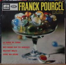"FRANCK POURCEL LA DANSE DE ZORBA 45t 7"" FRENCH EP EGF 834"