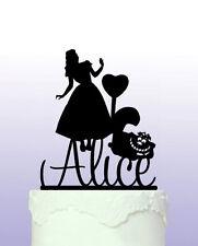 Alice In Wonderland Personalised Cake Topper