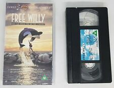 Free Willy Warner Bros VHS Tape 1993 VGC FAST FREE POST