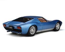 1:12 Kyosho Lamborghini Miura P400 S blue GTS12501BL NEU NEW