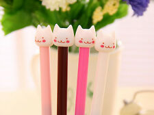 Cute 1 Pcs Gel Pen Fashion Korean Lovely Smile Cat Kitty Cartoon Neutral Pen CN