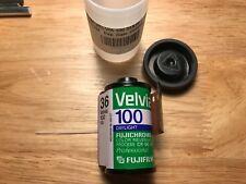 Fujichrome Velvia 100 Color Reversal Slide Film 35mm 36exp. Expired 1 Roll