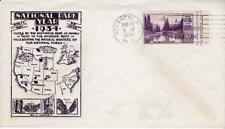 First day cover, Sc #750a, APS S/S, Planty 16, Kapner cachet, 1934