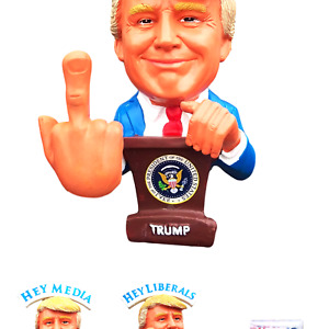 Donald Trump Doll - This Bobblehead Trump Has A Bobbling Middle Finger Instea...