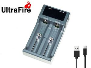 New UltraFire WF-119 LCD USB Battery Charger