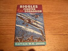 CAPT WE JOHNS BIGGLES OF THE FIGHTER SQUADRON RED FOX PAPERBACK BOOK 2003