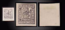 1891 MADAGASCAR Antsiranana DIEGO - SUAREZ  SUPERB  FORGERY 5 C. SCOTT.10 Yv. 10