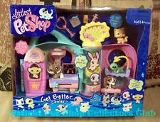 Littlest Pet Shop 2007 Get Better Center lot CAT #490 DOG #491 GECKO #492 Rare