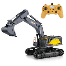 HuiNa 1:14 RC Alloy Excavator 22CH Big Trucks Simulation Excavator Vehicle Toy