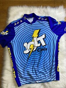 Pearl Izumi JOLT Cola Cycling Shirt Mens Large Jersey All Over Print S/S