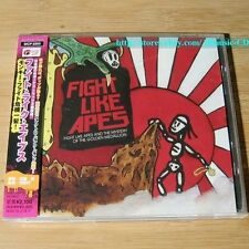 Fight Like Apes And The Mystery Of The Golden Medallion JAPAN CD+2Bonus *31-3*