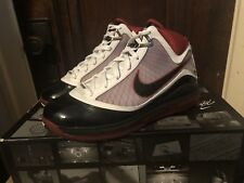 low priced f6522 3ae3b Nike Air Max Lebron 7 VII Home Black White Red Jordan Off White Yeezy