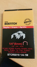 1,000 Stanley Bostitch STCR5019 6mm Staples
