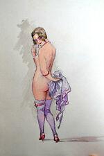 GOURMONT Lettres d'un satyre PLICQUE, 1922 DESLIGNIERES DESSINS ORIGINAUX UNIQUE