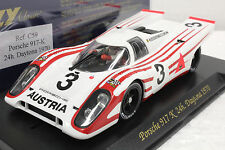 FLY C59 PORSCHE 917K VIC ELFORD DAYTONA 1970 NEW 1/32 SLOT CAR IN DISPLAY CASE