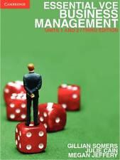 Cambridge Essential VCE Business Management Units 1&2, Third Edition