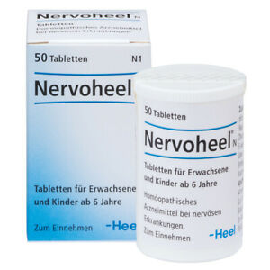 HEEL Nervoheel 50 Tablets Homeopathic Remedies