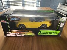 Dodga Viper SRR-10 1/18 Fast And Furious Joyride